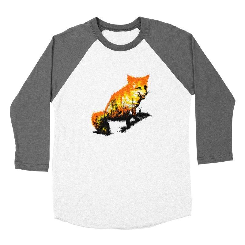 Fire Fox Women's Longsleeve T-Shirt by kooky love's Artist Shop