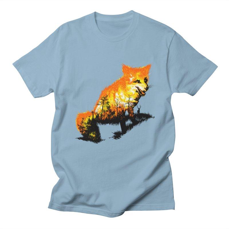 Fire Fox Women's Regular Unisex T-Shirt by kooky love's Artist Shop