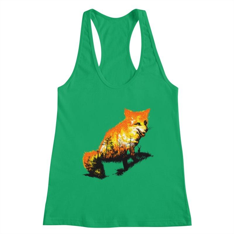 Fire Fox Women's Tank by kooky love's Artist Shop