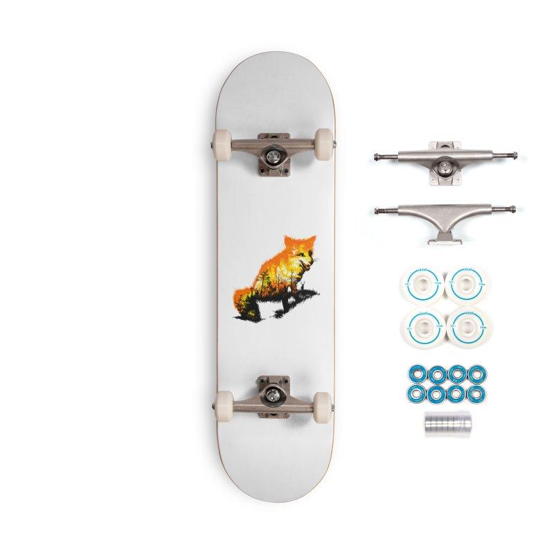 Fire Fox Accessories Complete - Basic Skateboard by kooky love's Artist Shop