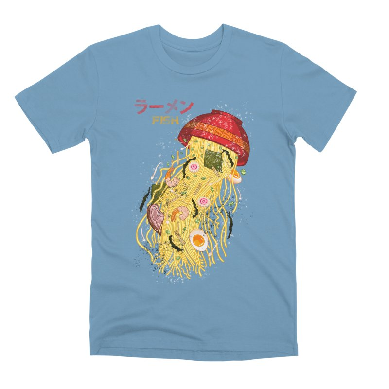 Ramen Fish Men's Premium T-Shirt by kooky love's Artist Shop