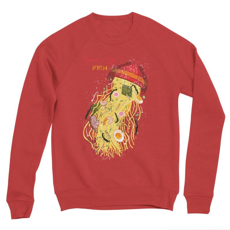 Ramen Fish Women's Sponge Fleece Sweatshirt by kooky love's Artist Shop