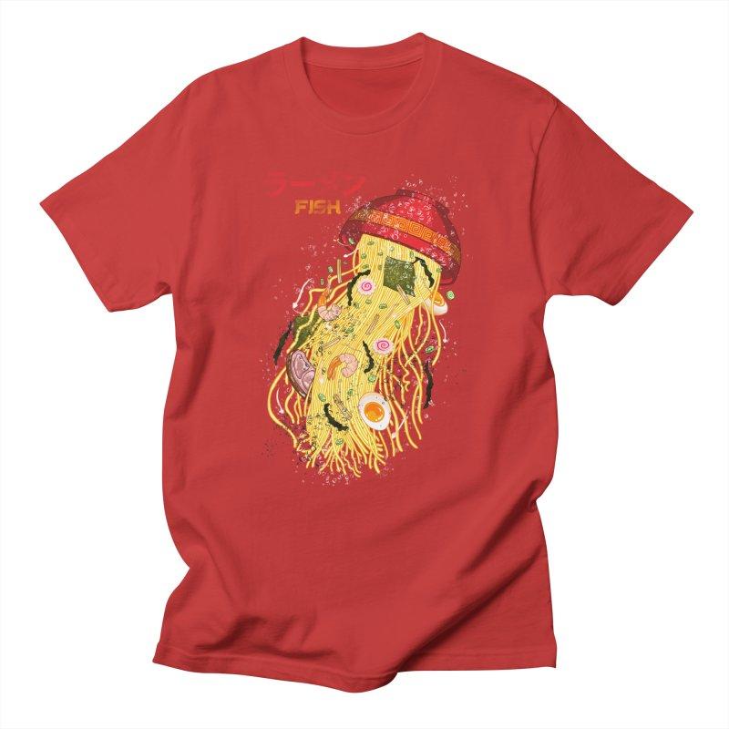 Ramen Fish Women's Regular Unisex T-Shirt by kooky love's Artist Shop