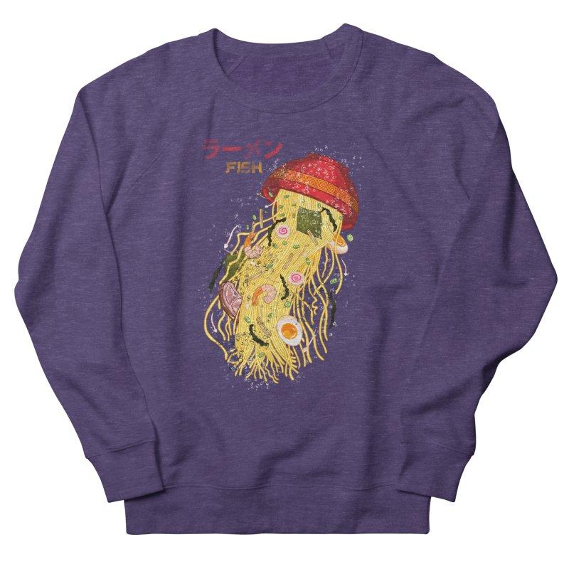 Ramen Fish Men's French Terry Sweatshirt by kooky love's Artist Shop