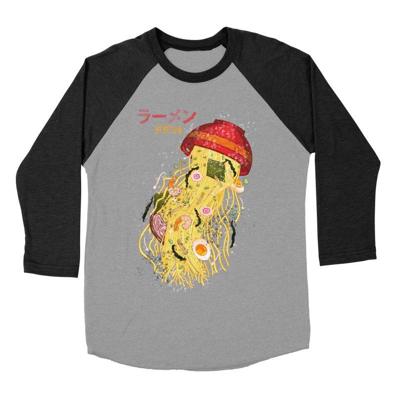 Ramen Fish Women's Baseball Triblend Longsleeve T-Shirt by kooky love's Artist Shop