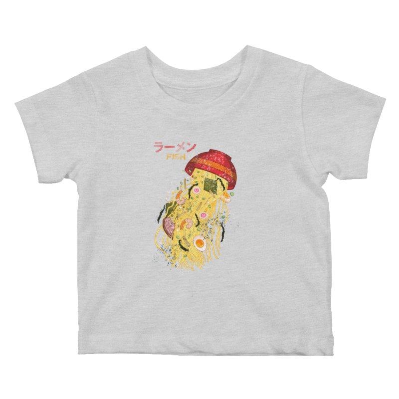 Ramen Fish Kids Baby T-Shirt by kooky love's Artist Shop