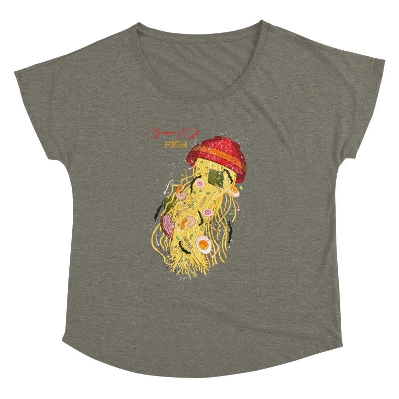 Ramen Fish Women's Dolman Scoop Neck by kooky love's Artist Shop