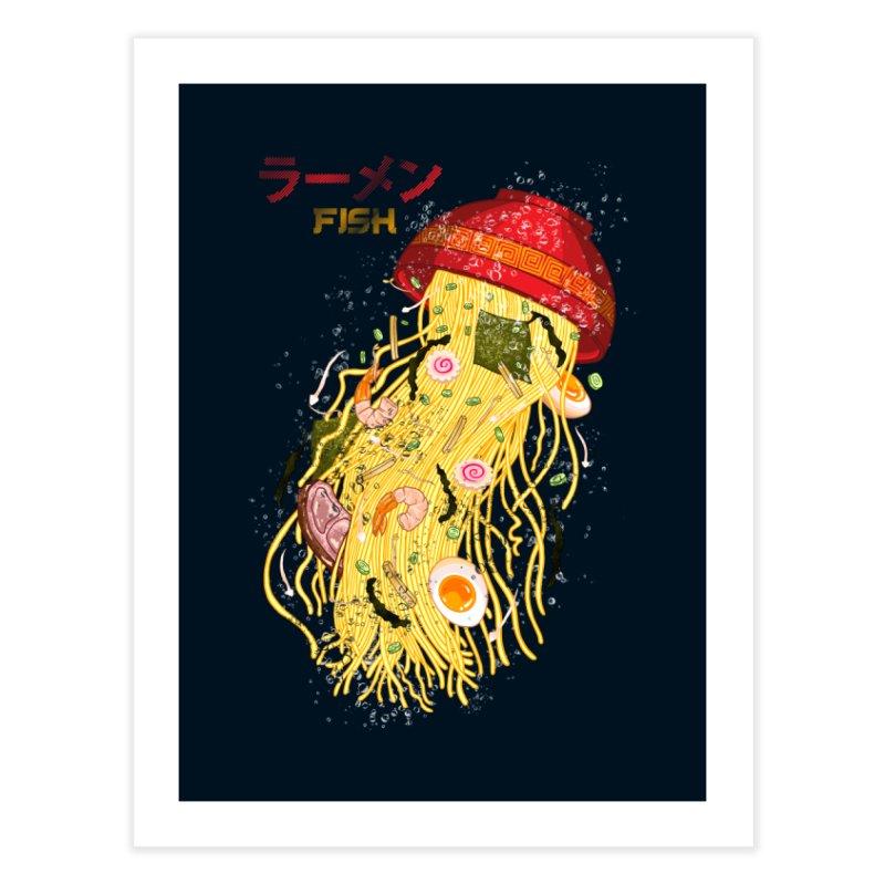 Ramen Fish Home Fine Art Print by kooky love's Artist Shop