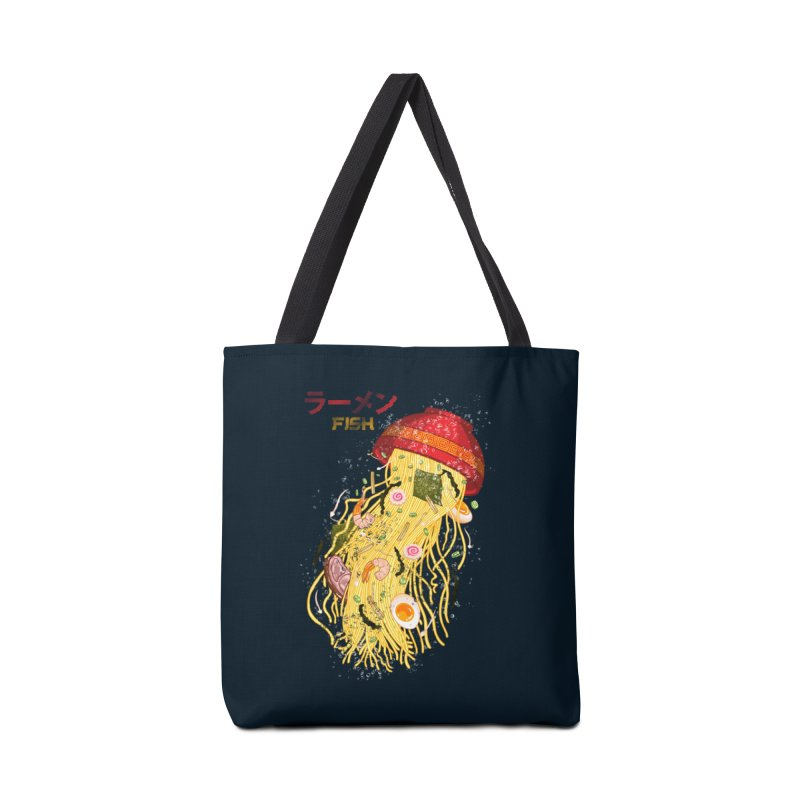 Ramen Fish Accessories Tote Bag Bag by kooky love's Artist Shop