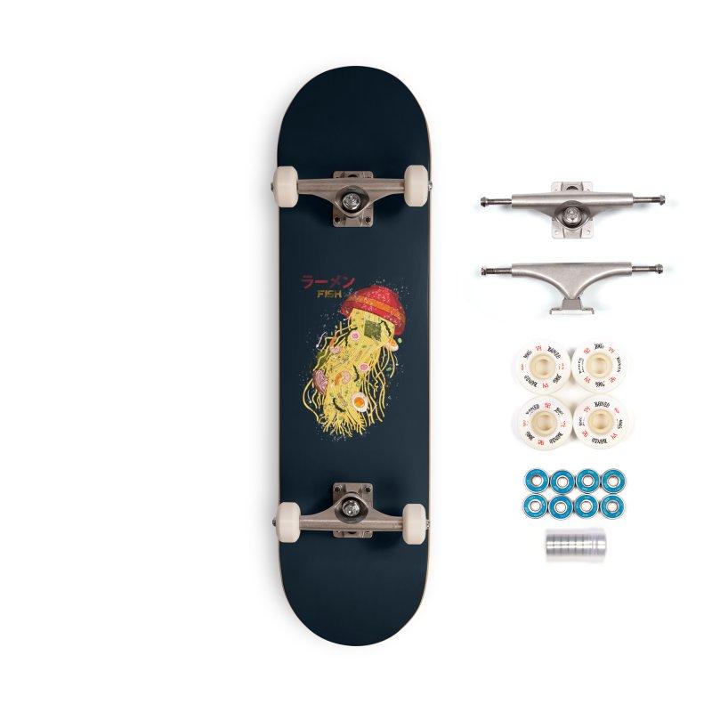 Ramen Fish Accessories Complete - Premium Skateboard by kooky love's Artist Shop