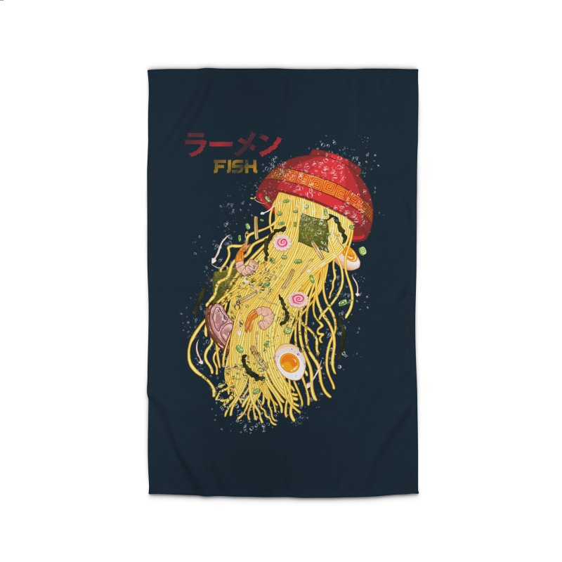 Ramen Fish Home Rug by kooky love's Artist Shop