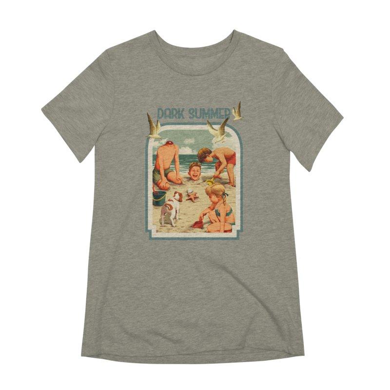 Dark Summer Women's Extra Soft T-Shirt by kooky love's Artist Shop