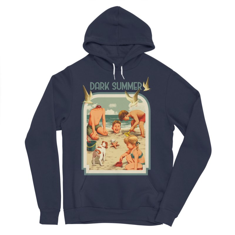 Dark Summer Men's Sponge Fleece Pullover Hoody by kooky love's Artist Shop