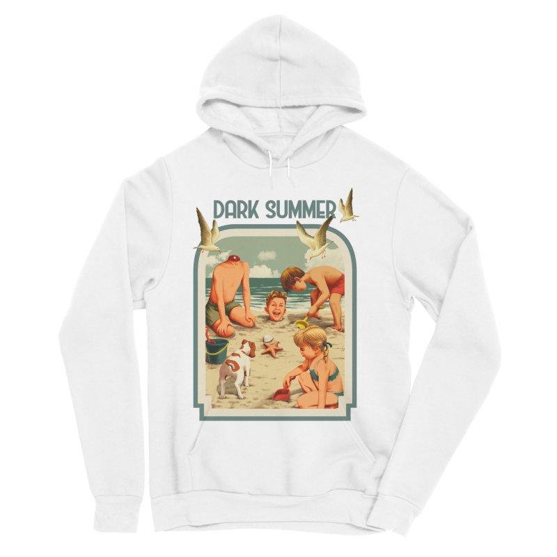 Dark Summer Women's Sponge Fleece Pullover Hoody by kooky love's Artist Shop