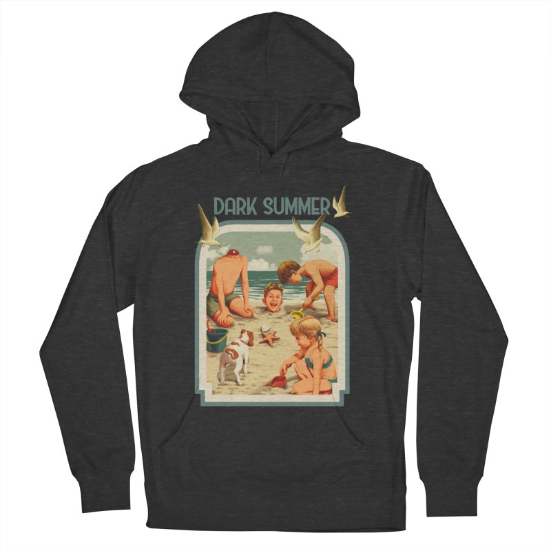 Dark Summer Women's French Terry Pullover Hoody by kooky love's Artist Shop