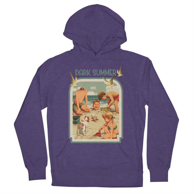 Dark Summer Men's French Terry Pullover Hoody by kooky love's Artist Shop
