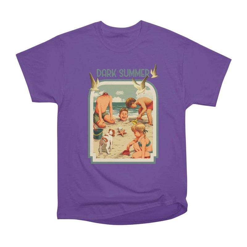 Dark Summer Men's Heavyweight T-Shirt by kooky love's Artist Shop