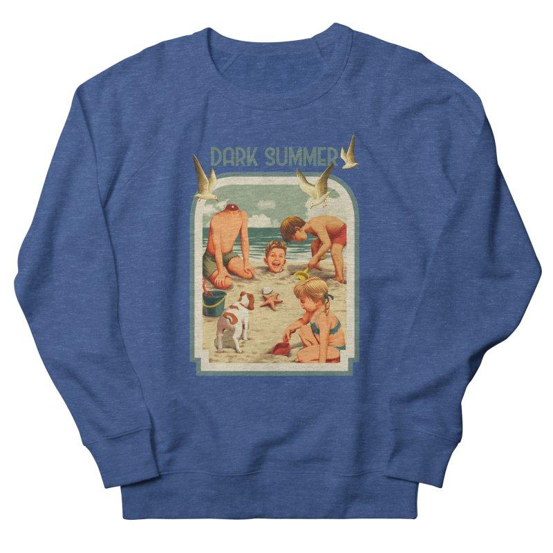 Dark Summer Women's French Terry Sweatshirt by kooky love's Artist Shop