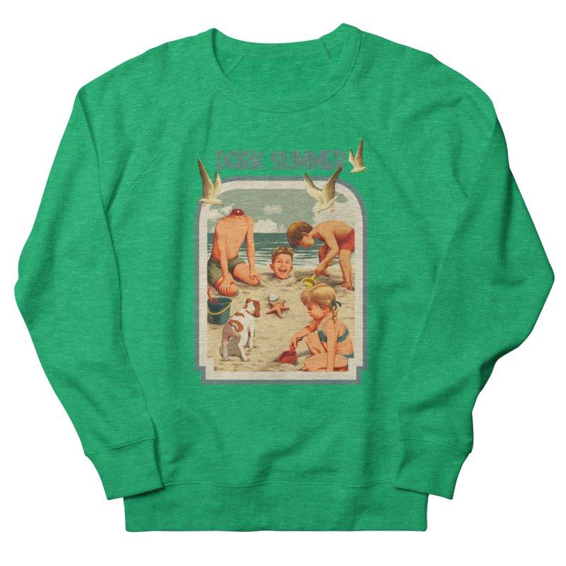 Dark Summer Men's French Terry Sweatshirt by kooky love's Artist Shop