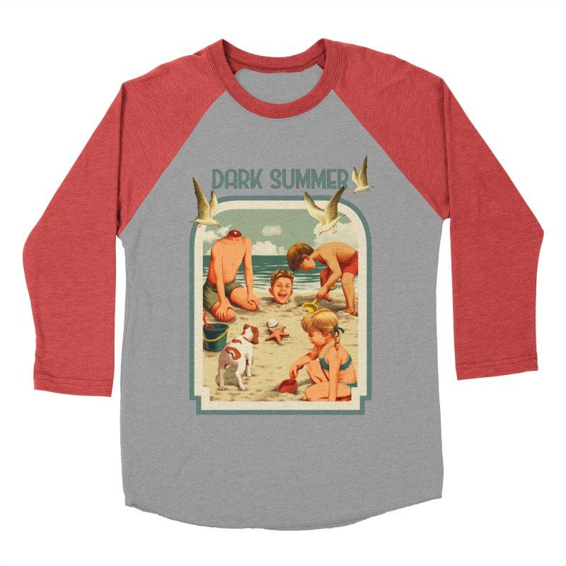 Dark Summer Women's Baseball Triblend Longsleeve T-Shirt by kooky love's Artist Shop