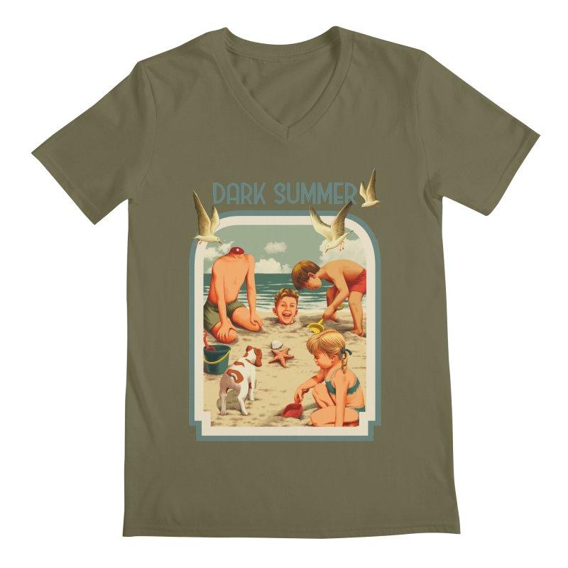 Dark Summer Men's Regular V-Neck by kooky love's Artist Shop