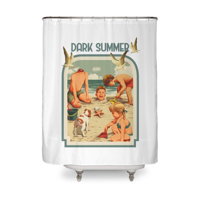 Dark Summer Home Shower Curtain by kooky love's Artist Shop