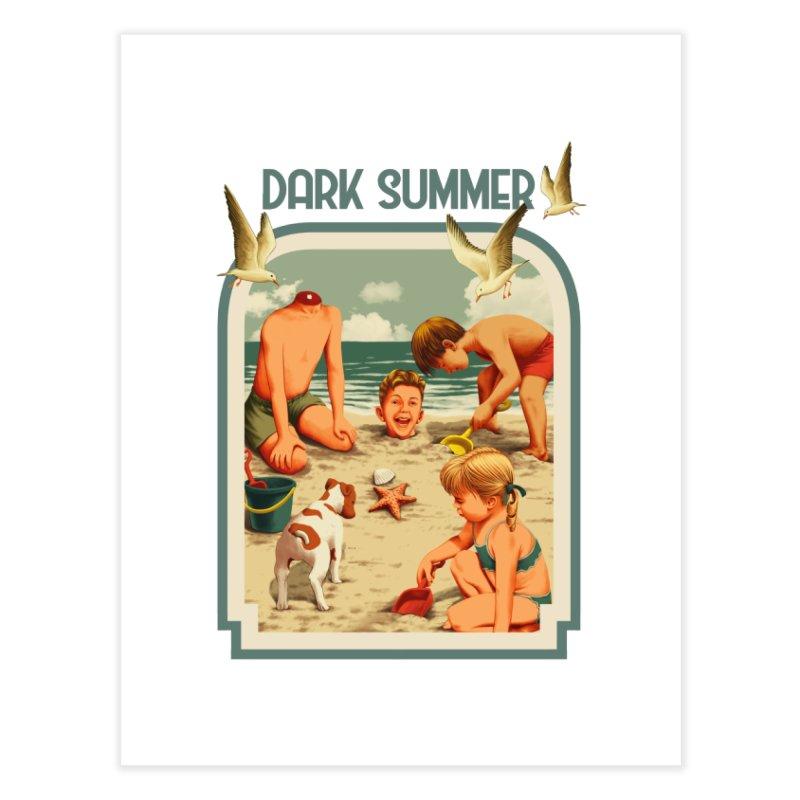 Dark Summer Home Fine Art Print by kooky love's Artist Shop