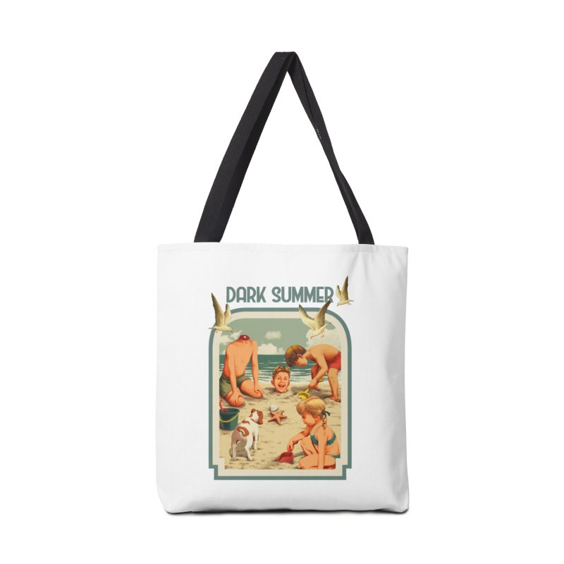 Dark Summer Accessories Tote Bag Bag by kooky love's Artist Shop