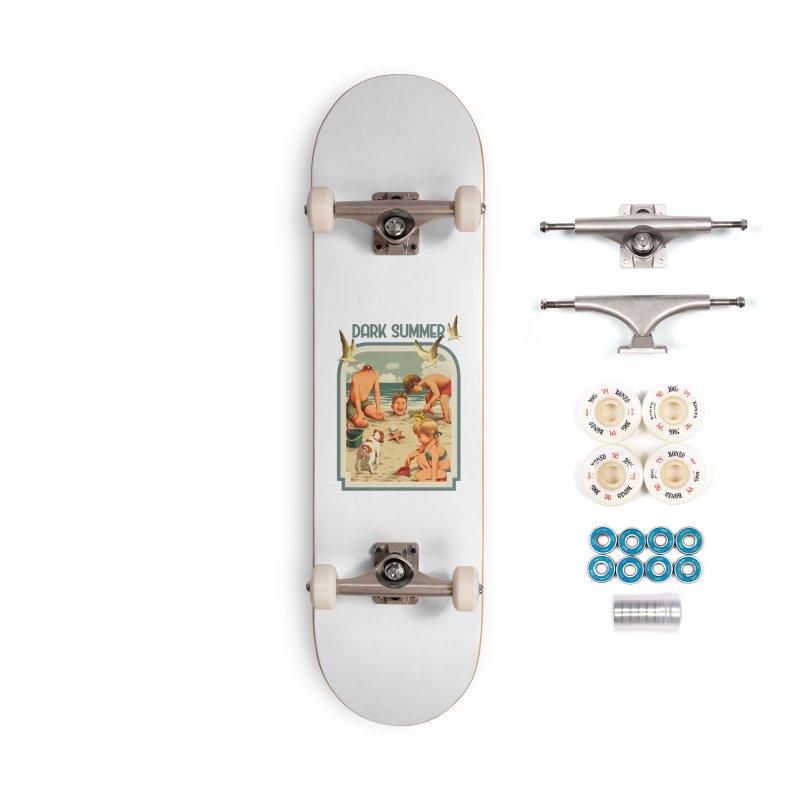 Dark Summer Accessories Complete - Premium Skateboard by kooky love's Artist Shop