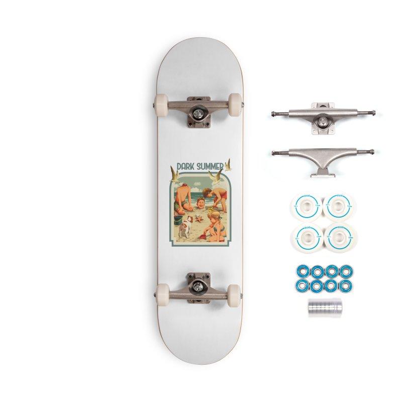 Dark Summer Accessories Complete - Basic Skateboard by kooky love's Artist Shop
