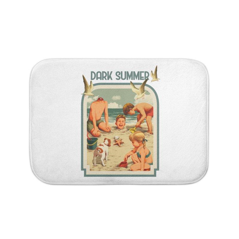 Dark Summer Home Bath Mat by kooky love's Artist Shop
