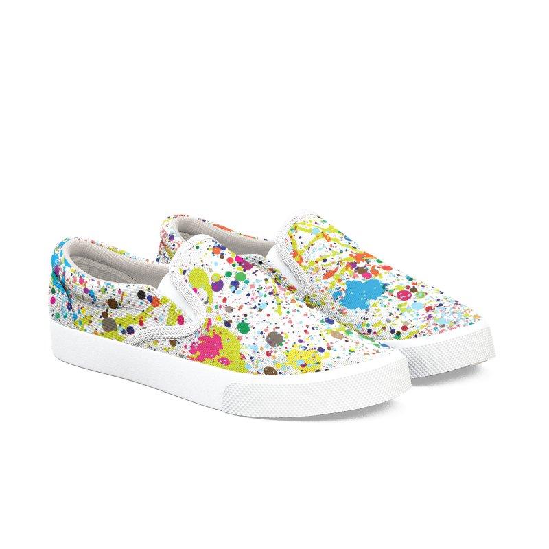 Pollock's Shoes Women's Slip-On Shoes by kooky love's Artist Shop