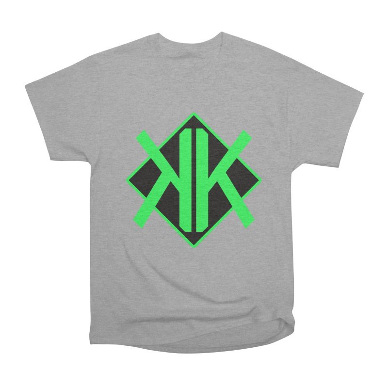 Green Official Logo Tee Men's Heavyweight T-Shirt by We Are Korrupt