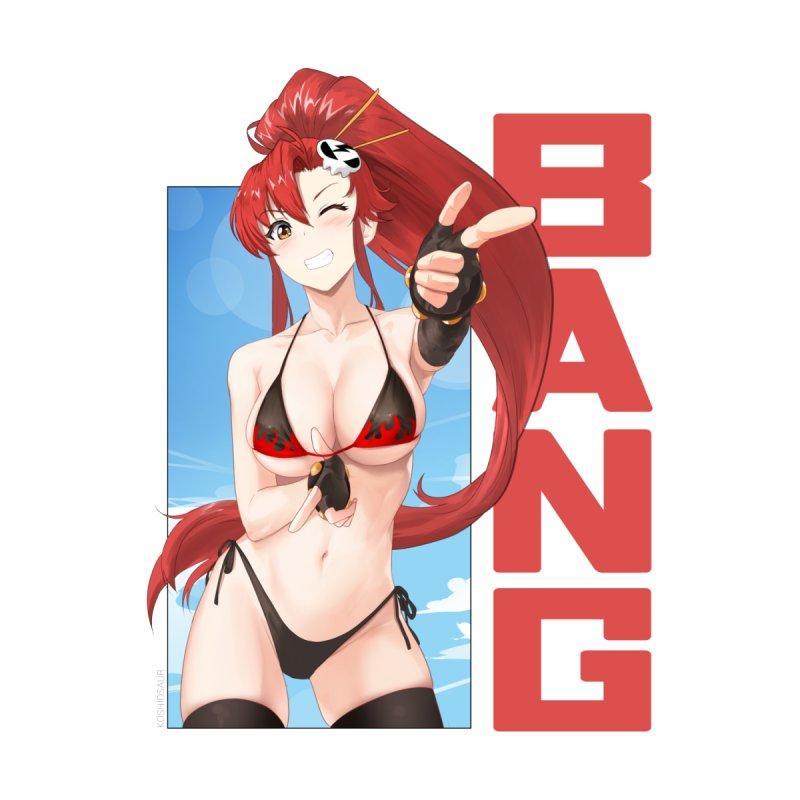 Yoko Bang! Men's T-Shirt by Koshiosaur Merch Store