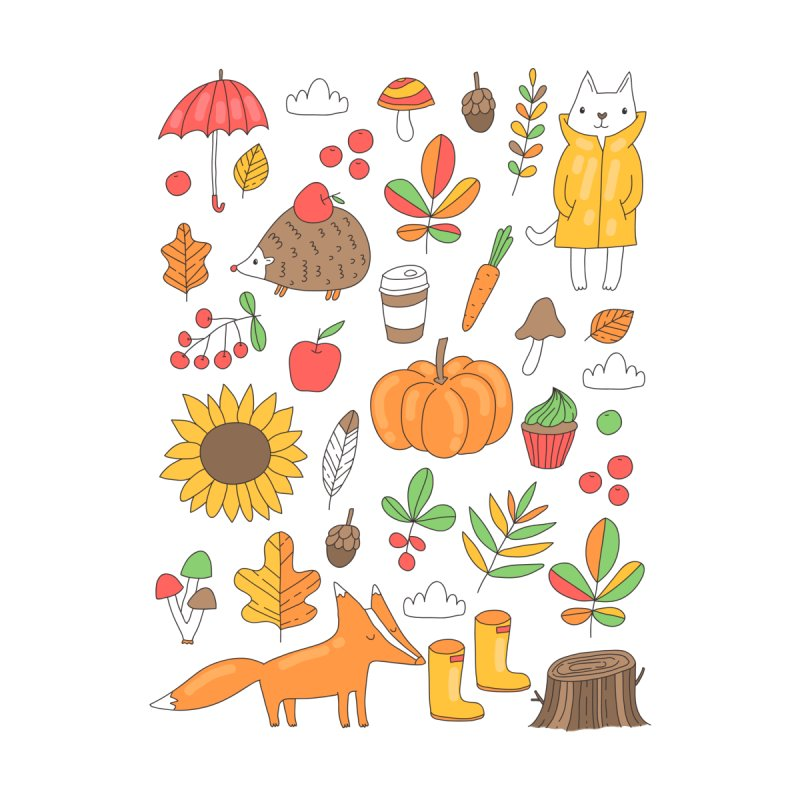 Autumn Men's T-Shirt by Anna Alekseeva