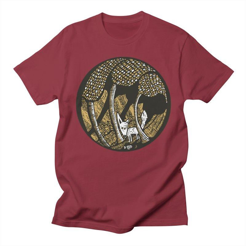 Deep forest Men's Regular T-Shirt by kotocut's Artist Shop