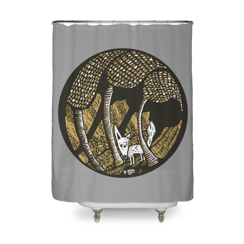 Deep forest Home Shower Curtain by kotocut's Artist Shop