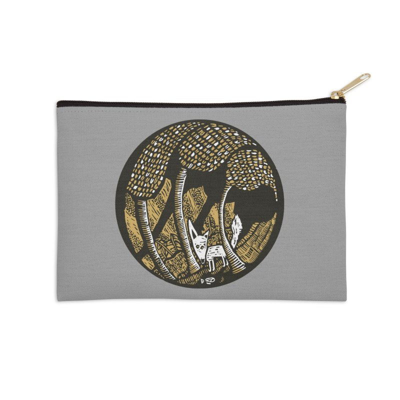Deep forest Accessories Zip Pouch by kotocut's Artist Shop