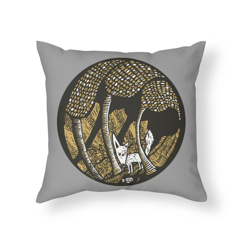 Deep forest Home Throw Pillow by kotocut's Artist Shop