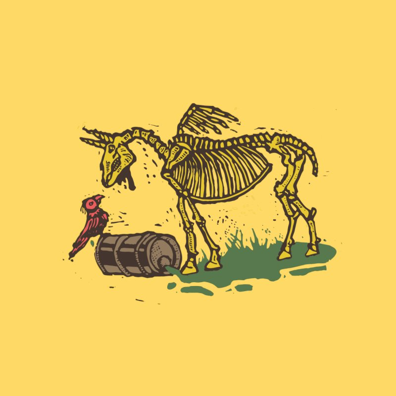 Yellow horse by kotocut's Artist Shop