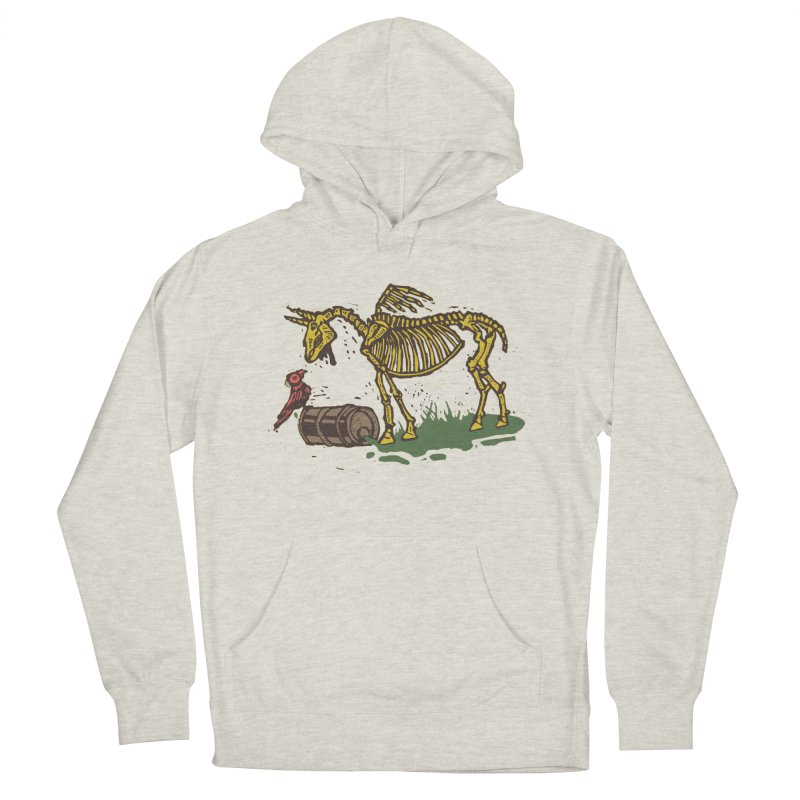 Yellow horse Men's French Terry Pullover Hoody by kotocut's Artist Shop