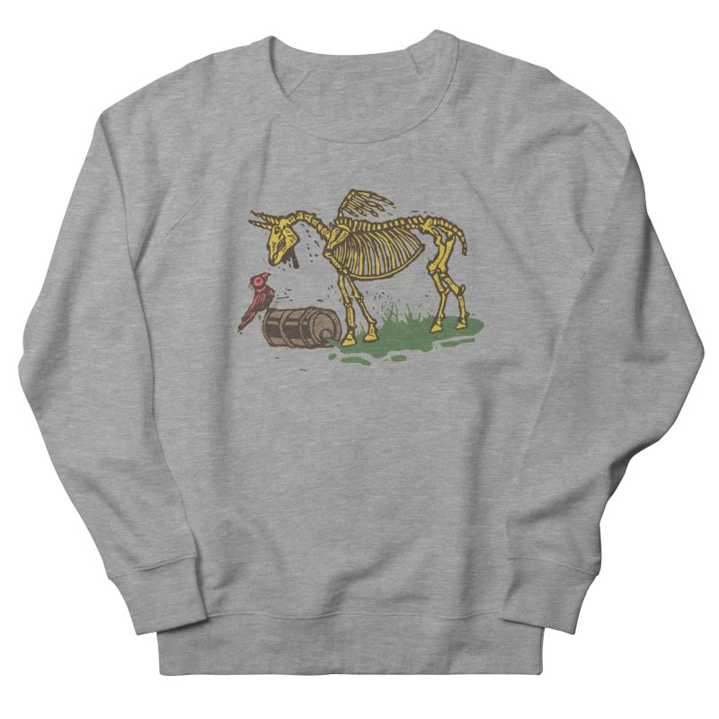 Yellow horse Men's French Terry Sweatshirt by kotocut's Artist Shop