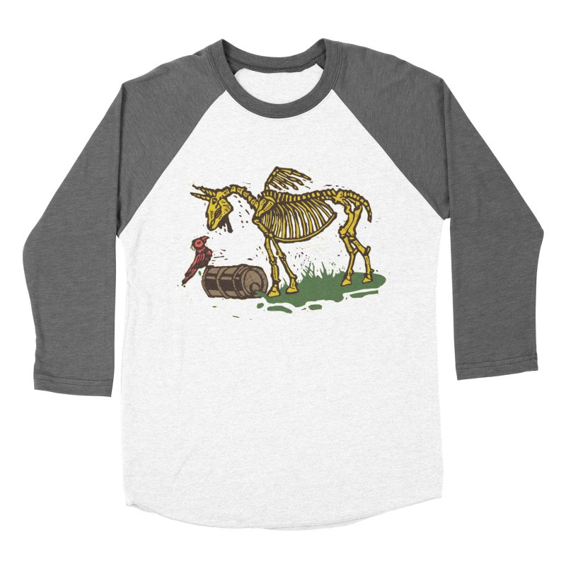 Yellow horse Men's Baseball Triblend Longsleeve T-Shirt by kotocut's Artist Shop