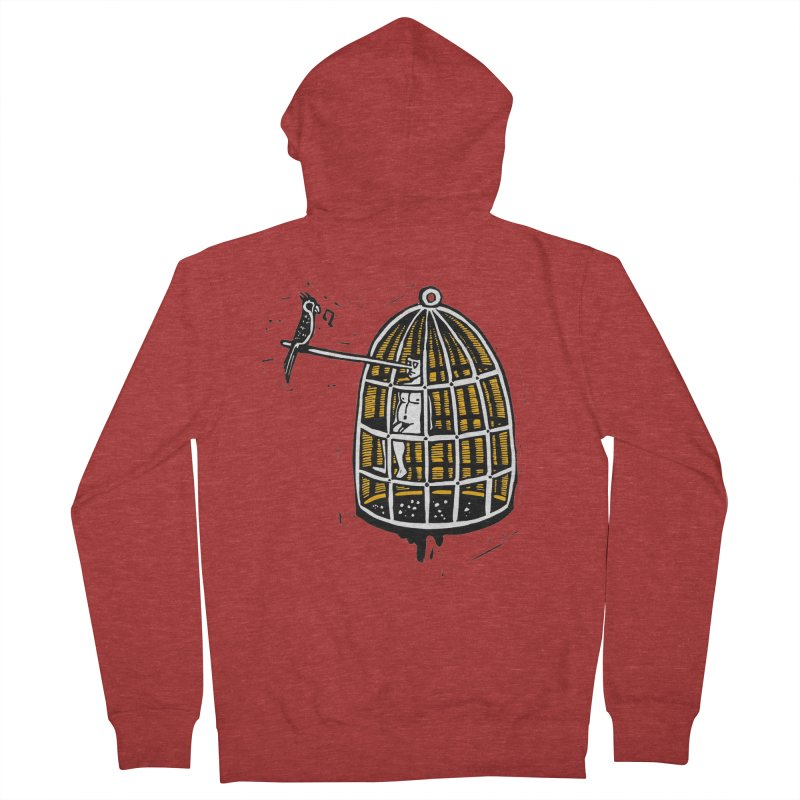Liar Men's French Terry Zip-Up Hoody by kotocut's Artist Shop