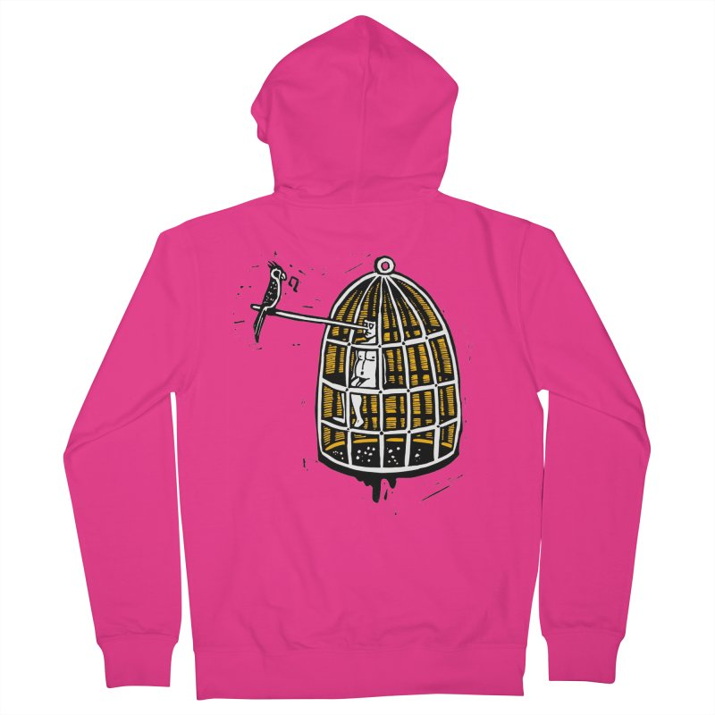 Liar Men's Zip-Up Hoody by kotocut's Artist Shop
