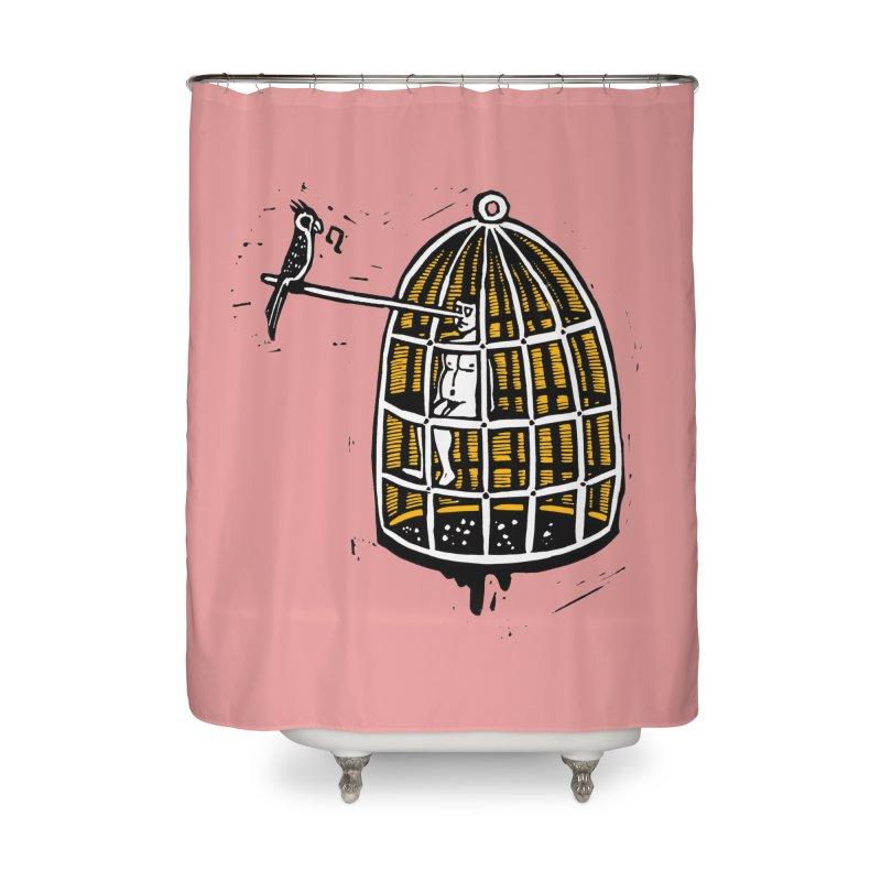 Liar Home Shower Curtain by kotocut's Artist Shop