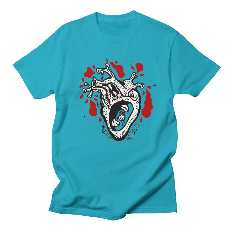 In my heart of hearts Men's Regular T-Shirt by kotocut's Artist Shop