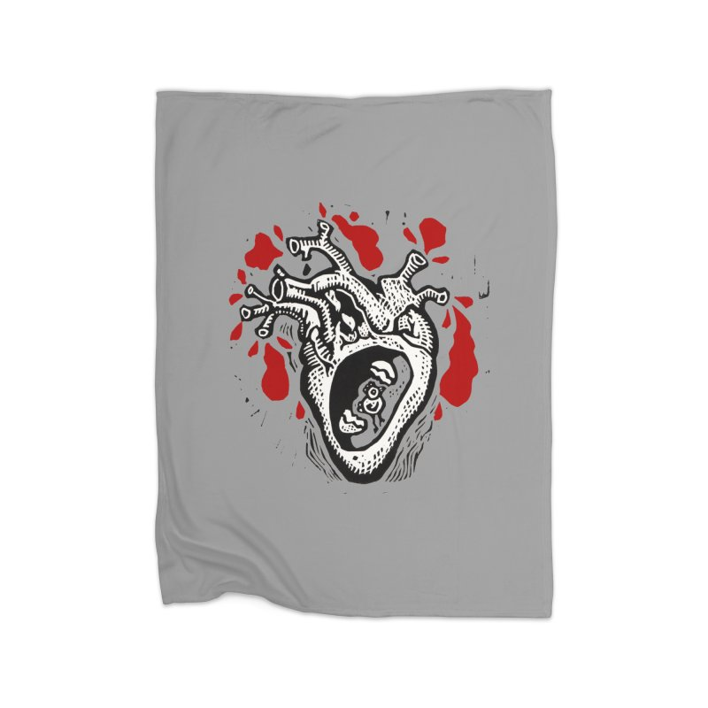 In my heart of hearts Home Blanket by kotocut's Artist Shop