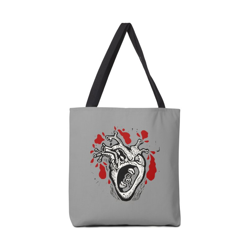 In my heart of hearts Accessories Tote Bag Bag by kotocut's Artist Shop