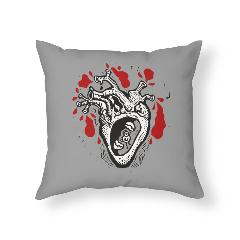 In my heart of hearts Home Throw Pillow by kotocut's Artist Shop